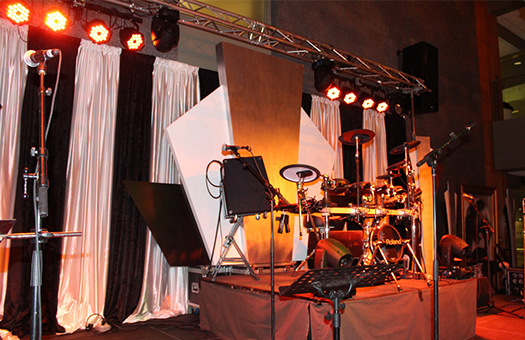 1920s roaring 20s gatsby band stage set flash IMG 1552