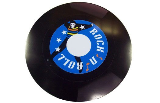 1950s rock n roll record event decor Large