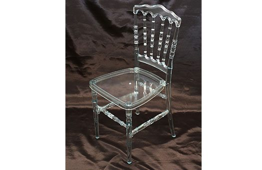 Chairs Clear Resin Versailles event decor rental wedding DC Large