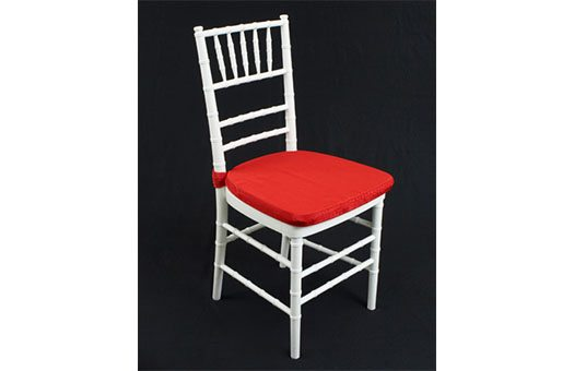 Cushions Red Turkey Moire event decor rental wedding DC Large