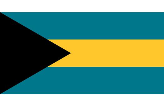 Flag Bahamas Event decor