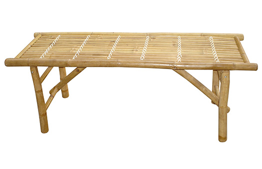 Bamboo coffee table or bench