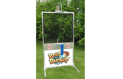 Beat the bucket dunk tank game