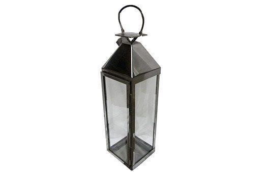 Lanterns astin polished aluminum lanterns Large