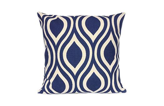 Pillow Nicole Navy Blue