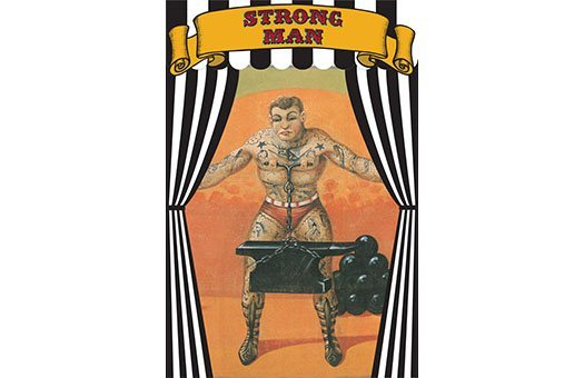 Signs StrongMan Banner Large