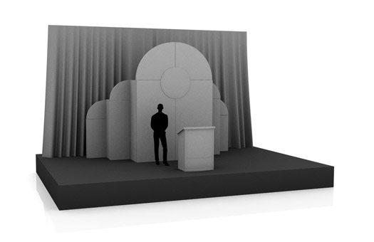Stage Sets art deco set Large