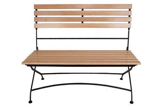 benches bistro event decor rentals Large