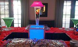 centerpieces Trumpet Vase Madonna Tulips princess Anne Club VA beach Large