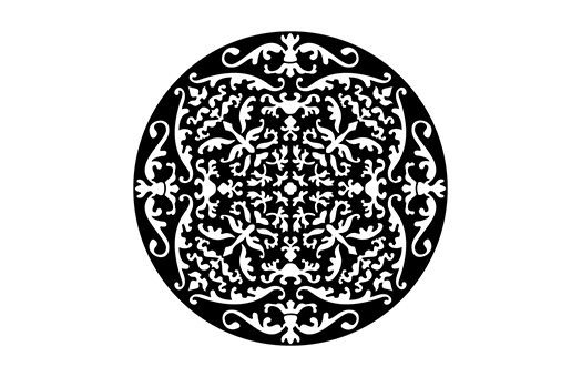 decor by theme arabian moroccan intricate ornament gobo ME 2584 large