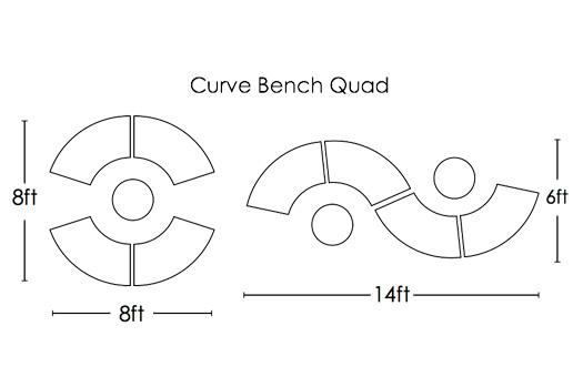 furniture diagrams 0001 curve bend quad large
