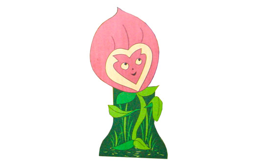 props alice in wonderland enchanted flower small large