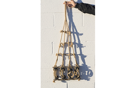 props sail rigging rope large