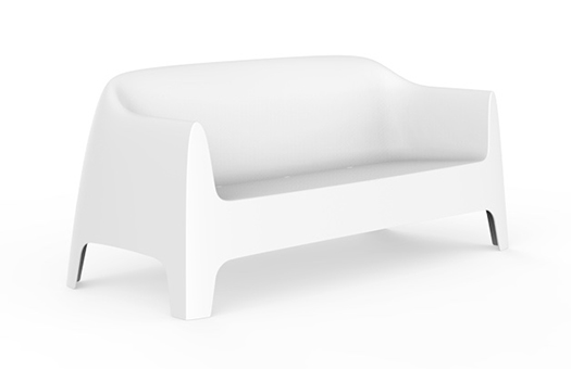 white sofa with sleek modern design great for corporate events and more
