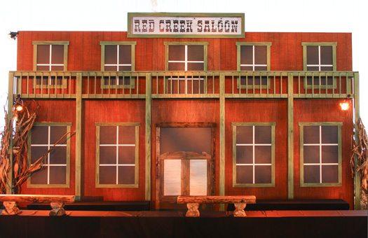 stage sets hard sets and drape kits red creek sallon western bar large