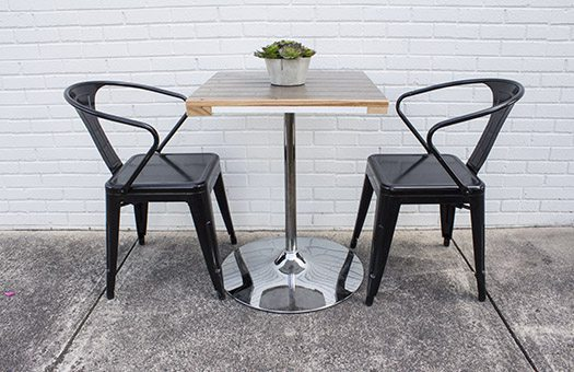 tables garage door reclaimed cafe group IMG 7747 Large